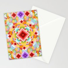 Harlequin Ombre Stationery Cards