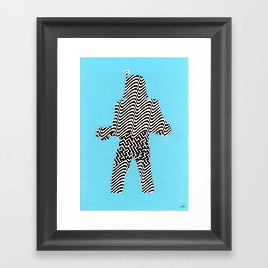 Cut StarWars - Streifenhörnchen Framed Art Print