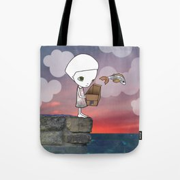 Gone Fishing (2) Tote Bag
