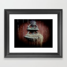 A Symbol For The King Framed Art Print