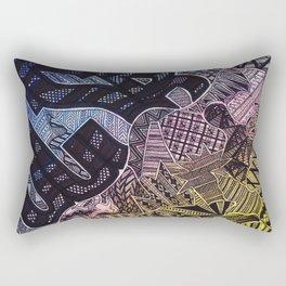 Organized Chaos - UCSB Rectangular Pillow