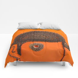 002: Clockwork Orange - 100 Hoopties Comforters