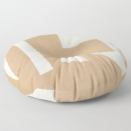 Minimal Abstract Art 30 Floor Pillow