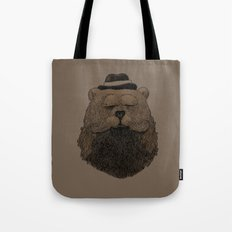 Grizzly Beard Tote Bag