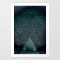 illuminate me night Art Print