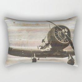 Old airplane 2 Rectangular Pillow