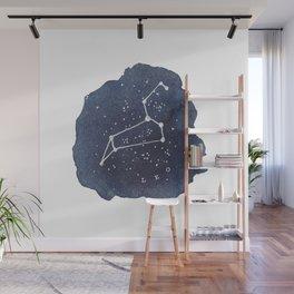 leo constellation zodiac Wall Mural