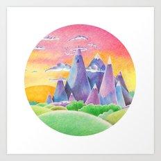 The Ice Kingdom Art Print