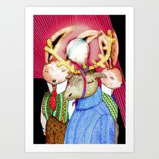 Fools' King Art Print