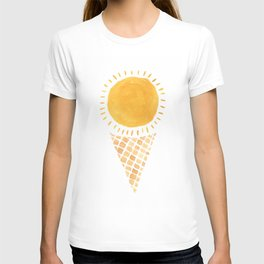 Sun Ice Cream Cone T-shirt
