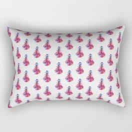 heartbeat pattern Rectangular Pillow