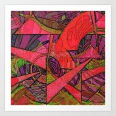 Tropical Farm 2 Art Print