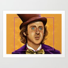 The Wilder Wonka Art Print