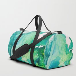 Environmental Importance, Deep Sea Water Bubbles Duffle Bag