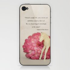 My Very Heart Leaped iPhone & iPod Skin