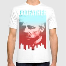 GODFATHER - Do I have your Loyalty? Mens Fitted Tee White MEDIUM