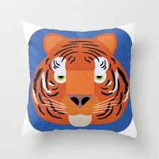 Tiger Throw Pillow