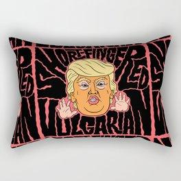 Short-Fingered Vulgarian Rectangular Pillow