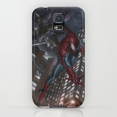 Spiderman vs Goblin Galaxy S5 Slim Case