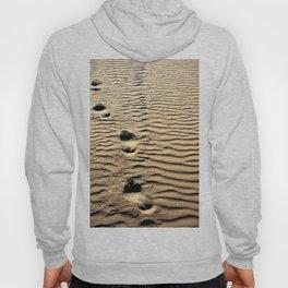 Pismo Beach Footprints Hoody