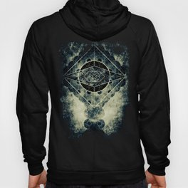 Sacred Geometry for your daily life -  SATURN EYE Hoody