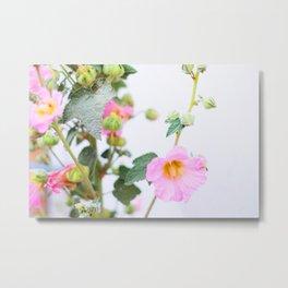 339. Flowers of Summer, France Metal Print