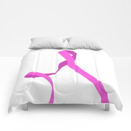 Pink Ribbon Part 2 Comforters