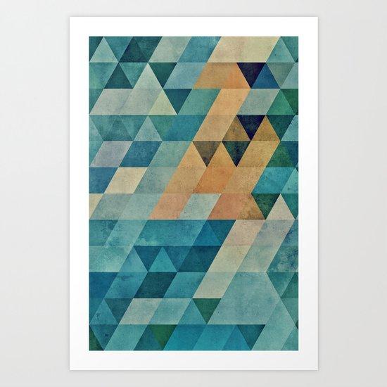 vyntyge pwwdr Art Print