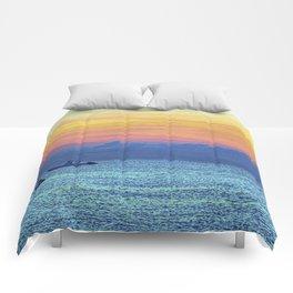 Fire Island Marina Comforters