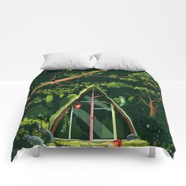 The Hideout – Day Version Comforters