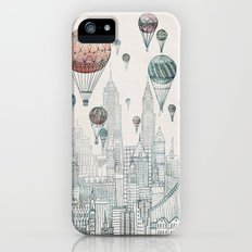 Voyages Over New York Slim Case iPhone (5, 5s)