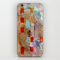 abstract in beige iPhone & iPod Skin