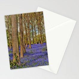 Bluebell Woods Greys Court Oxfordshire England UK Stationery Cards