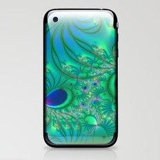 Peacock Paradise iPhone & iPod Skin