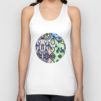 bikes Tank Tops featuring Bikes by JustinPotts