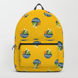 The Mountains are Calling and I Must Go Backpack