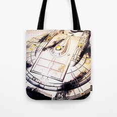 Battle Damaged Tote Bag