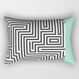 The Maze Rectangular Pillow