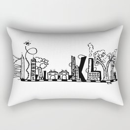 """The BK Way""  Rectangular Pillow"