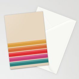 Retro Horizon #724 Stationery Cards