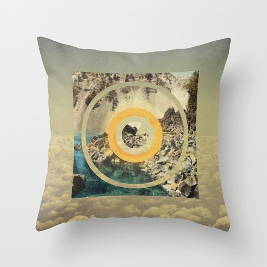 our empires are meaningless Throw Pillow