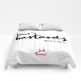 Bastards-white Comforters