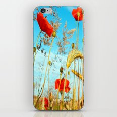 Lying in the cornfield, let your soul iPhone & iPod Skin