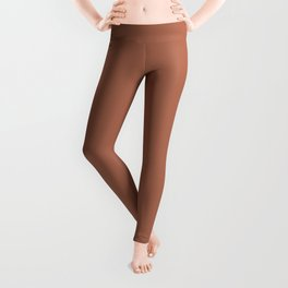 Best Seller Sherwin Williams Color of the Year 2019 Cavern Clay SW 7701 Solid Color Leggings