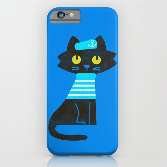 Fitz - Sailor cat iPhone & iPod Case