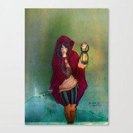 The Lantern Bearer Canvas Print