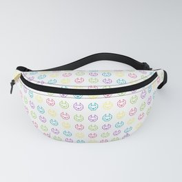 Colorful Frenchies Fanny Pack