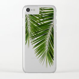 Palm Leaf II Clear iPhone Case