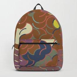 Abstract Geometric Artwork 87 Backpack