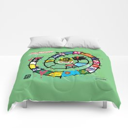 Gioco dell'Oca - The Game of the Goose (RDVM06) Limited Edition Comforters